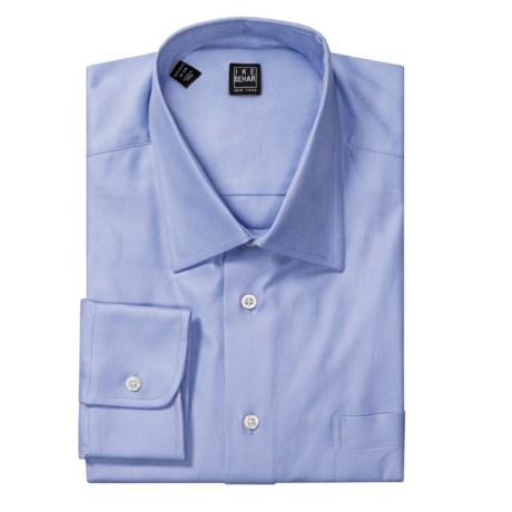 Ike Behar Black Label Cotton Twill Dress Shirt - Standard Fit, Long Sleeve (For Men)