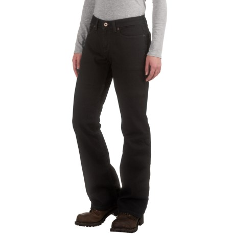 Dickies Curvy Bootcut Jeans (For Women)
