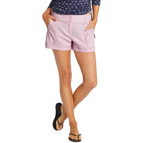 Carve Designs Lanakai Shorts - Linen-Rayon (For Women)
