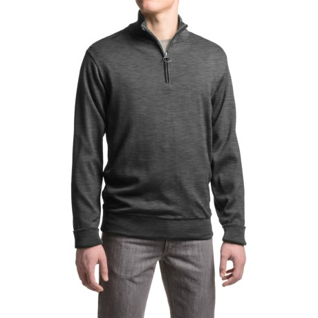Barbour Gamlin Wool Sweater - Zip Neck (For Men)