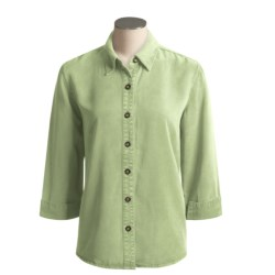 Pulp Point Collar Shirt - 3/4 Sleeve (For Women)