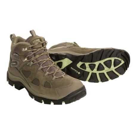 Columbia Sportstwear Packus Ridge Mid Hiking Boots - Waterproof, Omni-Tech® (For Women)
