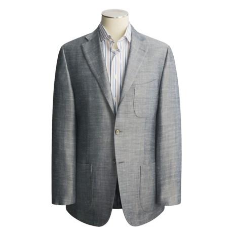 Isaia Birdseye Sport Coat - Wool-Linen (For Men)