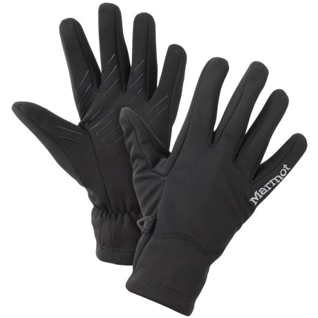 Marmot Connect Soft Shell Gloves - Touchscreen Compatible (For Women)