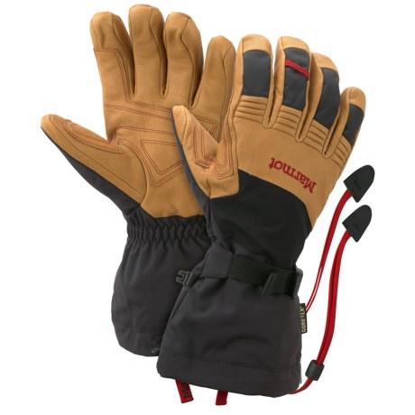 Marmot Ultimate Gore-Tex® Ski Gloves - Waterproof, Insulated (For Men)