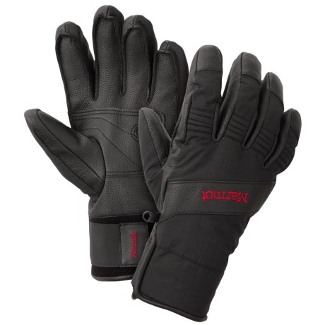 Marmot 3 Sixty Undercuff Gloves - Waterproof, Insulated (For Men)