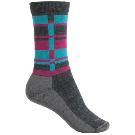 Lorpen T2 Lifestyle Stripes Socks - Merino Wool, Crew (For Women)