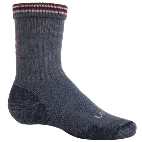 Lorpen Light Hiking Socks - Merino Wool, Crew (For Little and Big Kids)