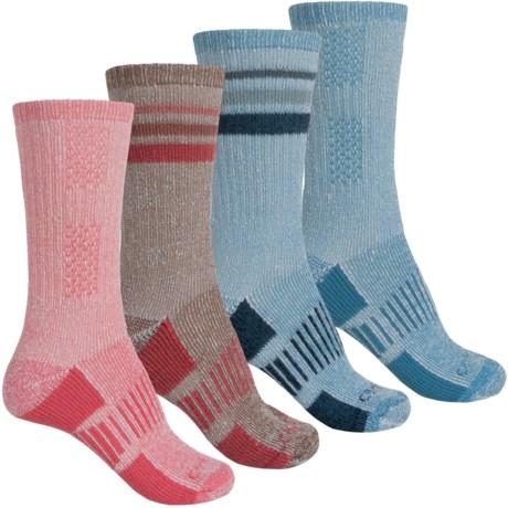 Carhartt Hiking Socks - 4-Pack, Crew (For Women)