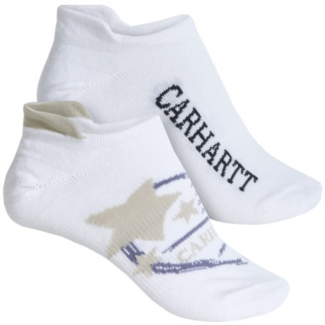Carhartt Summer-Weight Logo Tab Socks - 2-Pack, Below the Ankle (For Women)