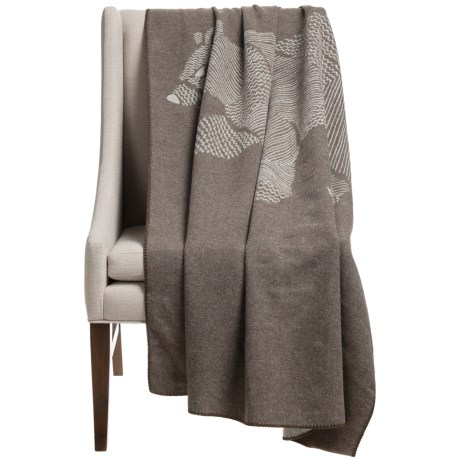 Woolrich Treverton Jacquard Wool Throw Blanket - 46x70""