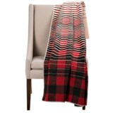 "Woolrich Buffalo Fade Out Wool Throw Blanket - 50x70"""
