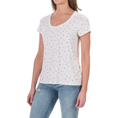Specially made Rayon Knit Shirt - Short Sleeve (For Women)