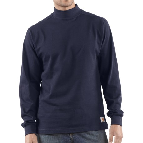 Carhartt Heavyweight Mock Turtleneck - Cotton, Long Sleeve (For Men)