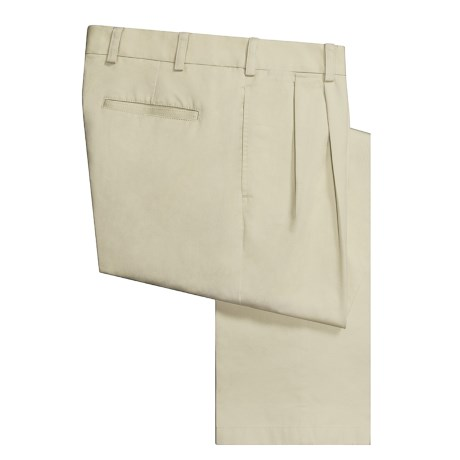 Orvis Authentic Chino Pants - Pleated Front, Twill   (For Men)