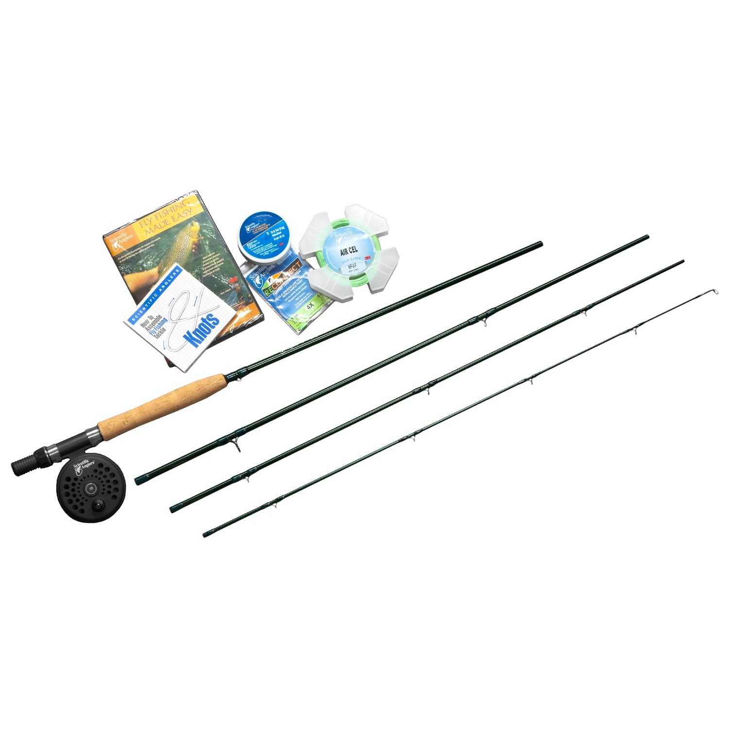 Scientific anglers fly fishing made easy fly fishing kit for Simple fly fishing