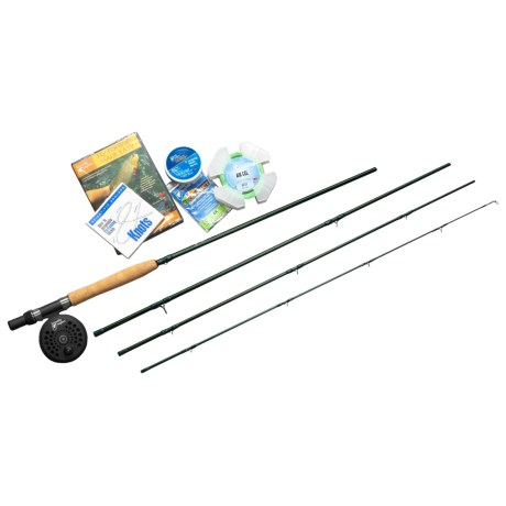 Scientific Anglers Fly Fishing Made Easy Fly Fishing Kit - 4-Piece, 9' 5/6wt