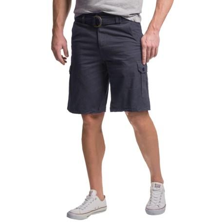 Visitor Belted Cargo Shorts (For Men)