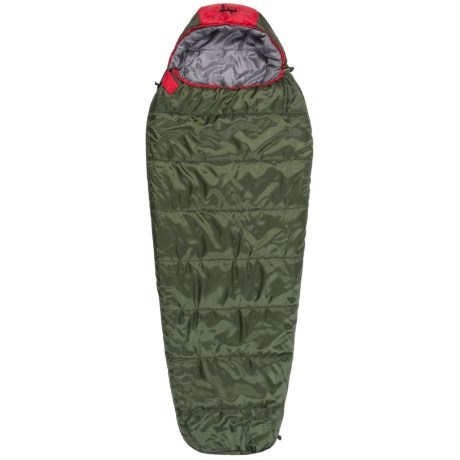 Slumberjack 30°F Big Scout Sleeping Bag - Short, Mummy (For Big Kids)