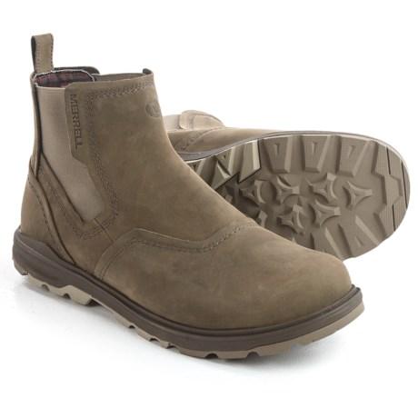 Merrell Brevard Chelsea Boots Nubuck For Men