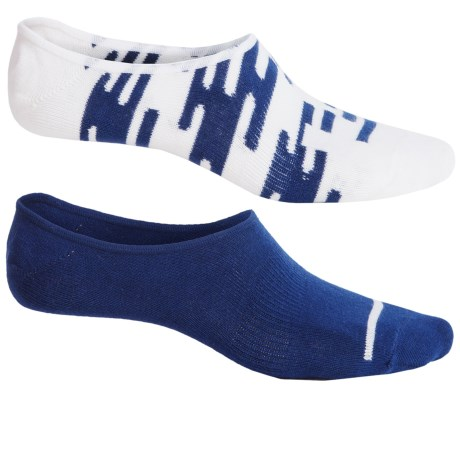 Richer Poorer Bount No-Show Socks - 2-Pack, Below the Ankle (For Men)