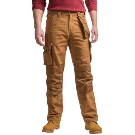 Carhartt Multi-Pocket Washed Duck Work Pants - Factory Seconds (For Men)