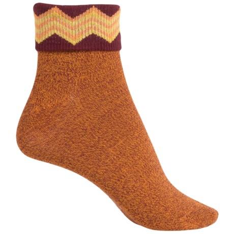 Richer Poorer Arrietty Fold-Over Socks - Ankle (For Women)