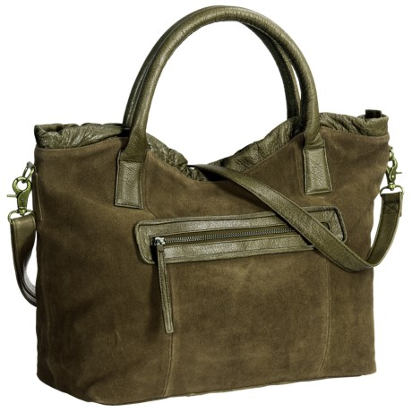 Day & Mood Weslee Satchel - Buffalo Suede-Leather (For Women)