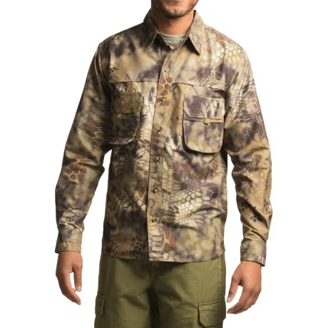 Kryptek Adventure Shirt - UPF 30+, Long Sleeve (For Men)