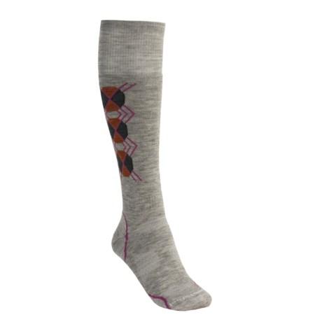 SmartWool PhD Medium Cushion Snowboard Socks - Merino Wool (For Women)