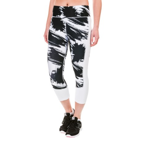 Kyodan Printed Capri Leggings (For Women)