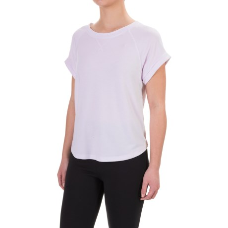Kyodan French Terry Sport Shirt - Short Sleeve (For Women)