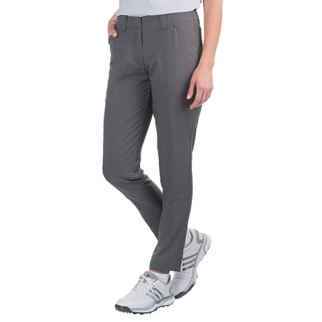 Specially made Four-Pocket Solid Golf Pants - Flat Front (For Women)