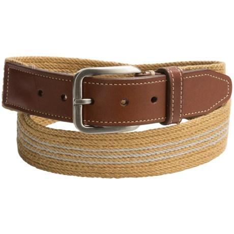 Specially made Italian Linen Belt (For Men)