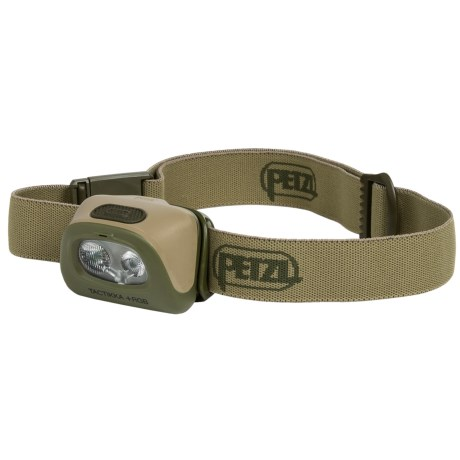 Petzl Tactikka+ RGB Headlamp - 160 Lumens