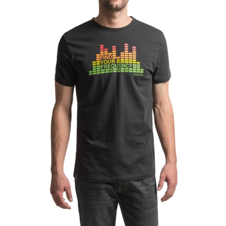 JKL Frequency Graphic T-Shirt - Short Sleeve (For Men)