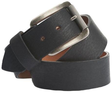 Woolrich Stag Elk Leather Belt (For Men)