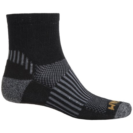 Wigwam Scout Socks - Merino Wool, Quarter Crew (For Men and Women)