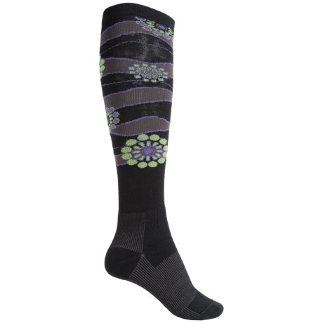 Wigwam Snow Sparkle Fusion Ski Socks - Over the Calf (For Men and Women)