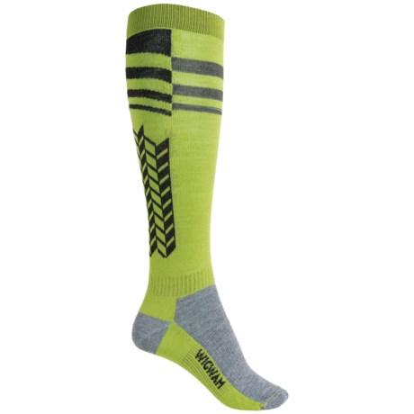 Wigwam Snow Arrow Pro Ski Socks - Over the Calf (For Women)