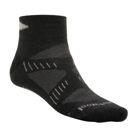 SmartWool PhD Ultralight Mini Running Socks - Merino Wool (For Men and Women)
