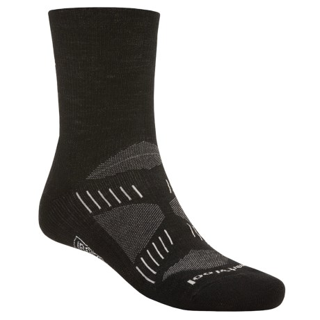 SmartWool PhD Light ¾ Crew Running Socks - Merino Wool (For Men and Women)