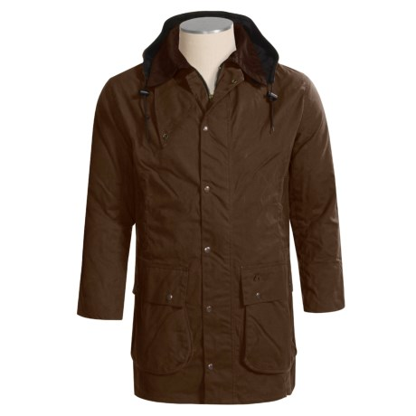 Kakadu Oxford Jacket - Cotton Oilcloth (For Men and Women)