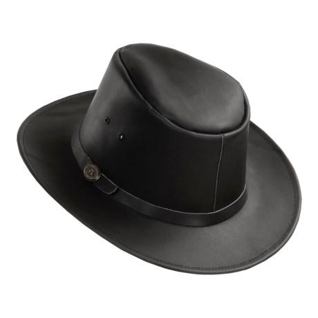 Kakadu Australia Kakadu Praha Bucket Hat - UPF 50+, Top-Grain Leather (For Men and Women)