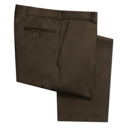 Rendezvous by Ballin Wool Gabardine Pants (For Men)