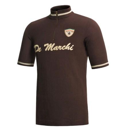 De Marchi Audace Cycling Jersey - Short Sleeve (For Men)
