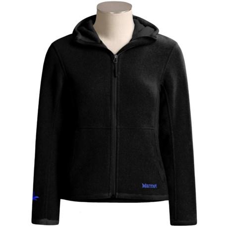 Marmot Wigi Hoodie Sweatshirt - Full Zip (For Women)