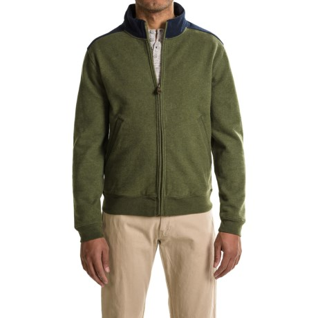 Pendleton Pieced Sweatshirt - Full Zip (For Men)