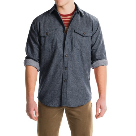 Pendleton Cascade WoolDenim Shirt - Long Sleeve (For Men)