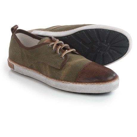 Blackstone M22 Sneakers - Canvas-Leather (For Men)